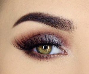 beauty, eyes, and hair image