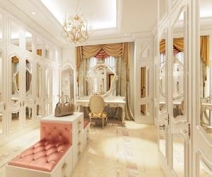 boudoir, glamorous, and closet image