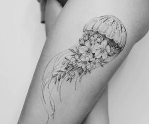 tattoo and jellyfish image