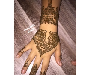 flower, flowers, and henna image