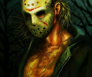 film, art, and friday the 13th image