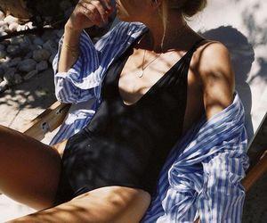 summer, beach, and fashion image