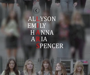 lucy hale, pll, and ashley benson image
