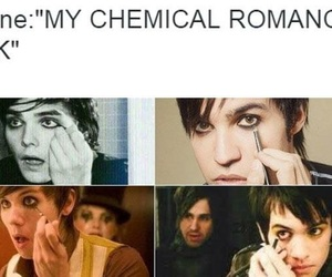 bands, emo, and my chemical romance image