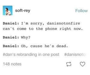 daniel, dan and phil, and danisnotonfire image