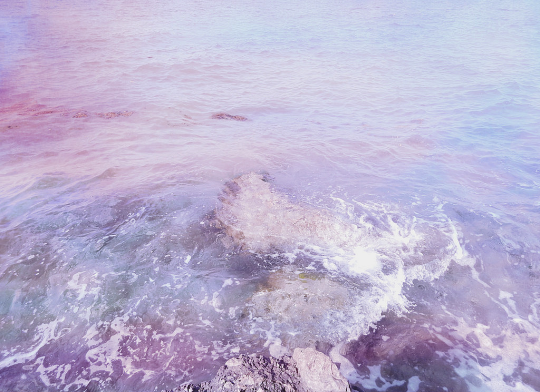 purple, sea, and aesthetic image
