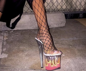 fine, fire, and fishnet image