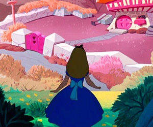 alice in wonderland, disney, and background image