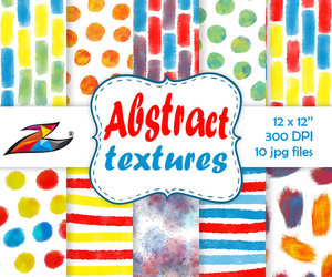 etsy, watercolor pattern, and abstract patterns image