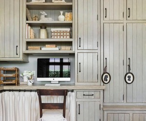 cabinetry, farmhouse, and home decor image