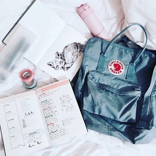 bag, fashion, and study image