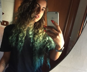 alternative, capelli, and curly image