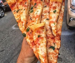 delicious, pizza, and food image