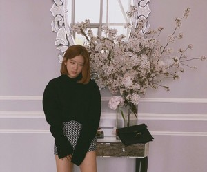 black, exy, and flowers image