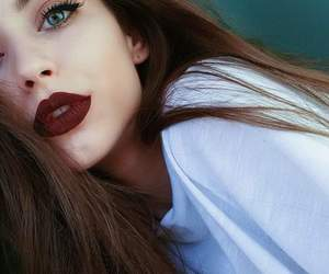 eyes, girls, and makeup image