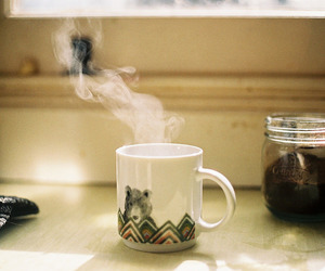 coffee, vintage, and tea image