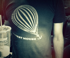 coffee, modest mouse, and tshirt image