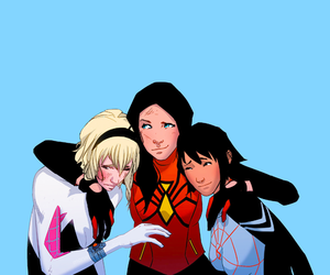 Marvel, silk, and spider-woman image