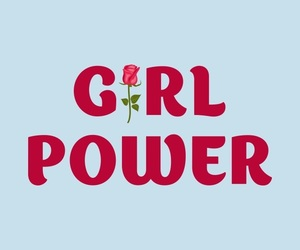 equality, feminism, and girl power image