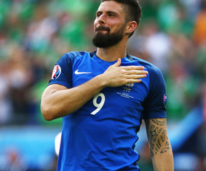 football, france nt, and olivier giroud image