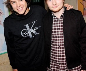 Harry Styles, ed sheeran, and harry image