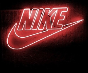 color, light, and nike image