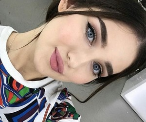 beauty, brunette, and chechen image
