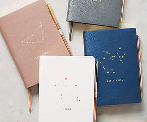 journal, write, and zodiac image