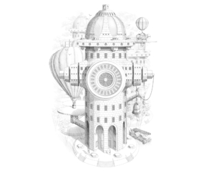 architecture, buildings, and illustration image