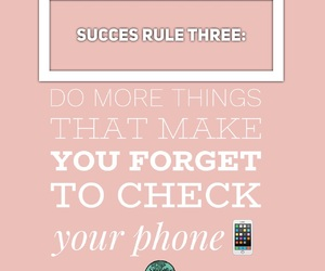 pink, phone, and succes image