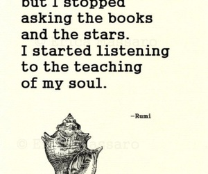 Rumi, quote, and soul image