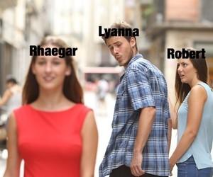 game of thrones, rhaegar targaryen, and lianna stark image