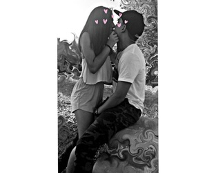 boy, kiss, and love image