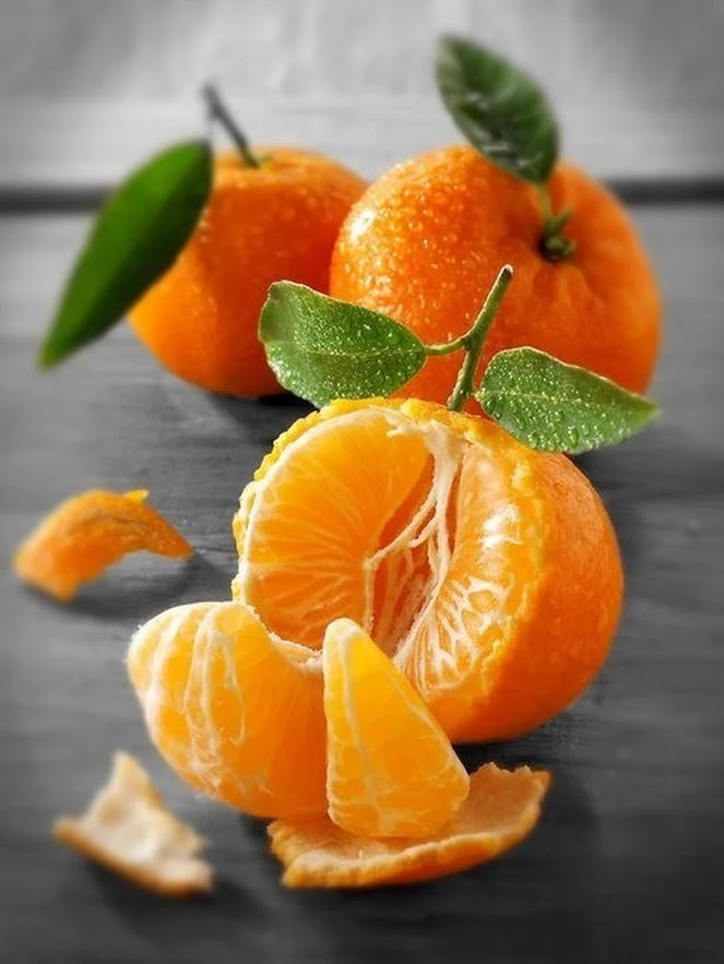 fruit, orange, and mandarin image
