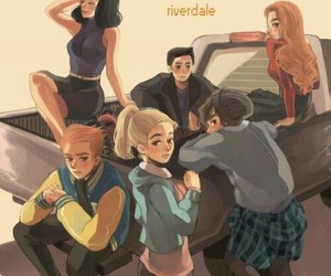 riverdale, Betty, and veronica image