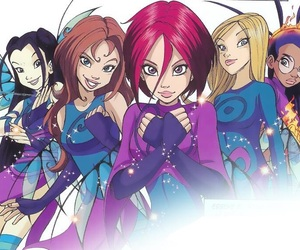 anime and w.i.t.c.h. image