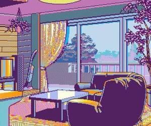 pixel and aesthetic image