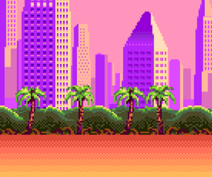 pixel, aesthetic, and pink image