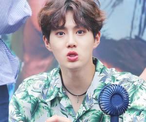 korea, asia boy, and exo image