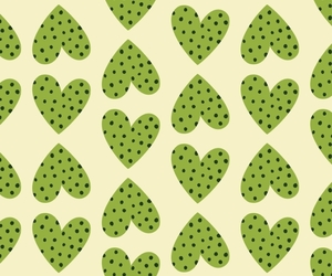 background, green, and heart image