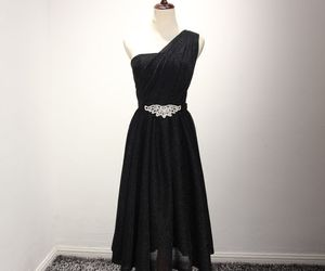 black dress, classic, and glitter image