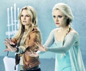elsa, frozen, and once upon a time image