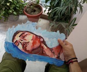 art, sad, and arte image