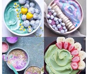 breakfast, food, and pastel image