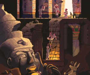 8bit, ancient, and archeology image