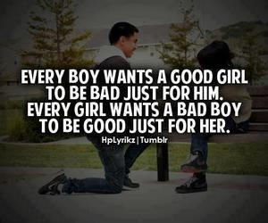 quote, boy, and bad image