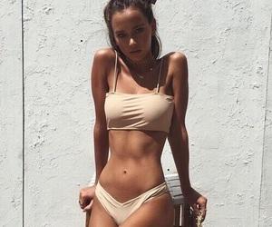 goals, tanned, and bikini image
