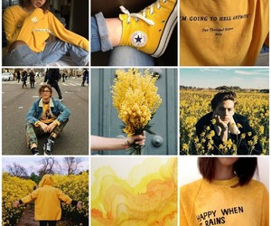 yellow, cole sprouse, and zendaya image