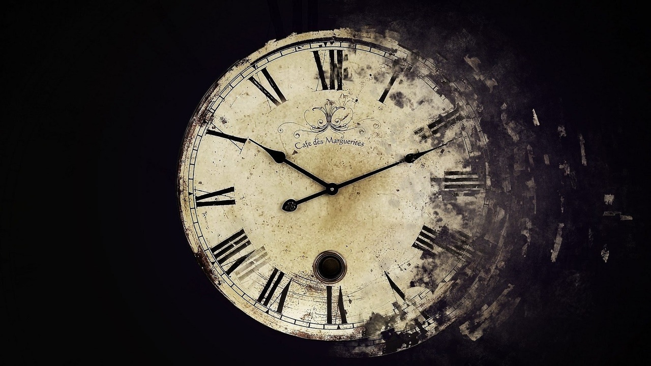 clock, time, and black image