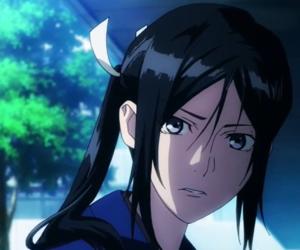 anime, yatogami kuroh, and k project image